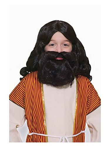 Forum Novelties Child's Biblical Wig and Beard Set, Brown]()
