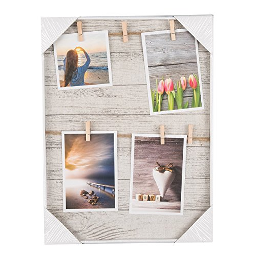 Ochoice Photo Display Hanging Picture Frame of 6 Photos-show the Sweetest of Your Family