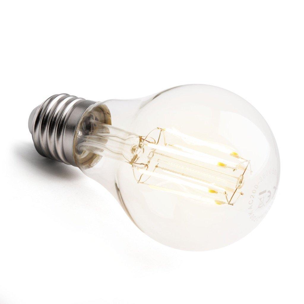 E27 LED Glühfaden Birne 8w COB extra warmweiß Glühbirne (60w-75w ...