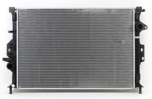 Radiator - Cooling Direct For/Fit 13352 12-14 Ford Focus Hatchback 2.0L L4 WITH Turbo 15-17 Focus ST 1-Row Plastic Tank Aluminum Core