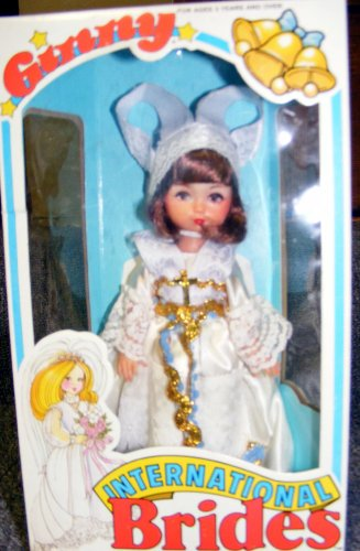 (Ginny Doll International Brides - French Bride HTF)