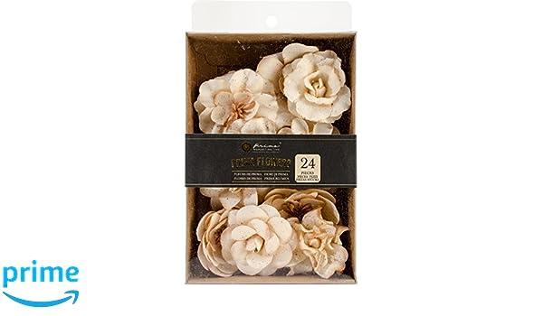 Prima Marketing Relics y artefactos Flores de Tela Decorativas X para 5//pkg-Spring Prism Floralia//–/Tallos