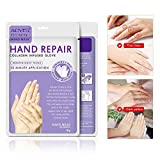 Hand Peel Mask 3 Pack Spa Gloves Moisture Enhancing Gloves, Dry Skin Hands Care Winter Nourishing Soothing Retain Hydration Exfoliating Hand Peeling Mask Repair Rough Skin Remove Dead Skin for Women