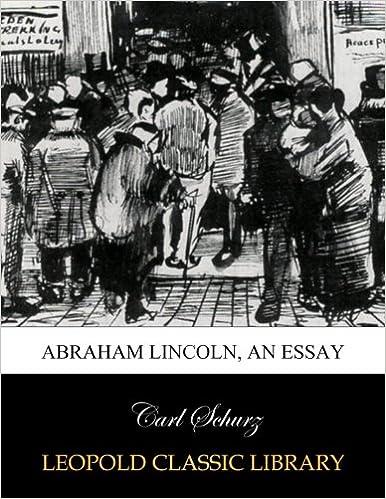 Book Abraham Lincoln, an essay