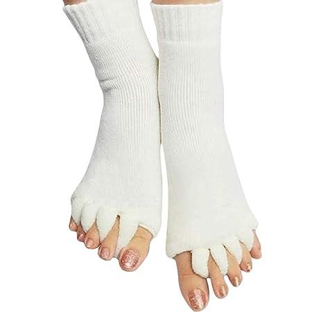 Alineación Calcetines del Dedo del pie Separador Calcetines ...