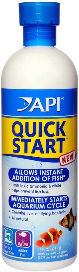 (2 Pack) API Quick Start Water Conditioner for Aquariums