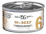 Merrick Before Grain #6 Beef Pate Style Cat Food, 3.2 Ounce Can (24 Count Case), My Pet Supplies