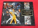 A.J. Green Cincinnati Bengals 2 Card Collector Plaque w/8x10 Photo