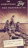 1940 Ferguson Tractor Accessories Sales Brochure Literature Advertisement