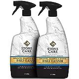 Stone Care International Granite Cleaner - 32 Fluid Ounces [2 Pack] Granite Marble Quartz Tile Travertine Limestone Slate Clean