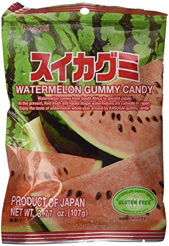 Japanese Gummy Candy from Kasugai - Watermelon - 107g