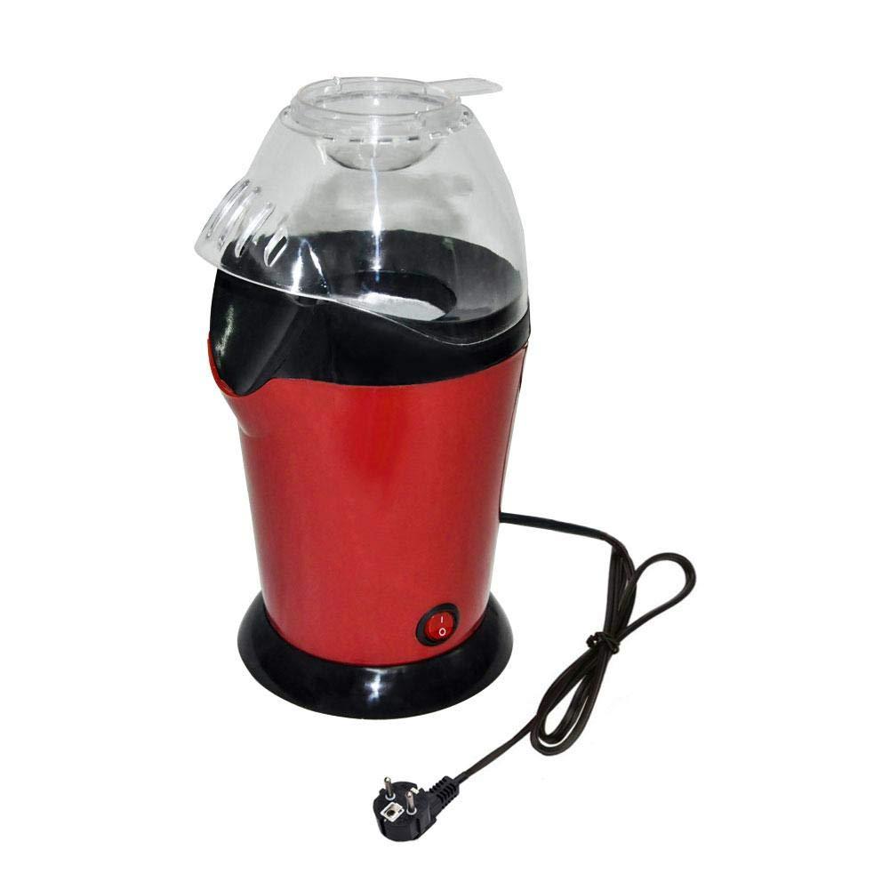 Máquina automática de Palomitas de maíz, 1200 W para la producción rápida y fácil de Palomitas de maíz, Aire Caliente sin Aceite, Tapa extraíble y sin BPA: ...