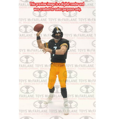 McFarlane Toys NFL Playmakers série 2 Action Figure Ben Roethlisberger (Steelers de Pittsburgh)