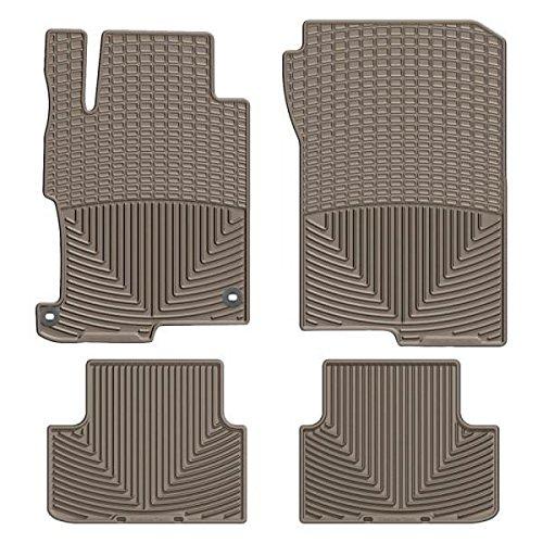 Tan Rubber Floor Mat WTHT293198 WeatherTech Front//Rear