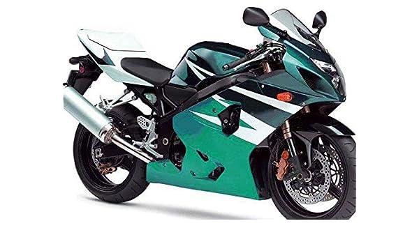 New Complete White Fairing Fit for SUZUKI 2004 2005 GSXR 600 750 Injection Mold ABS Plastics Bodywork Bodyframe 04 05
