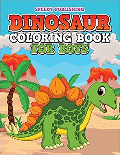 Buy Dinosaur Coloring Book for Boys Book Online at Low Prices in ...