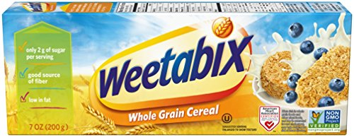 Weetabix Organic Whole Grain Cereal, 7 Ounce (Pack of 12)