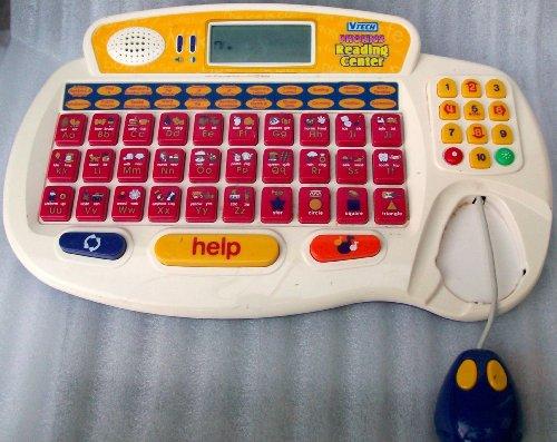 Vtech Phonics Reading Center Laptop Vintage Toy