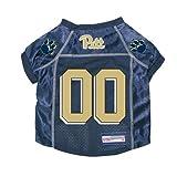 Pitt Panthers Premium NCAA Pet Dog Jersey w/ Name Tag XL