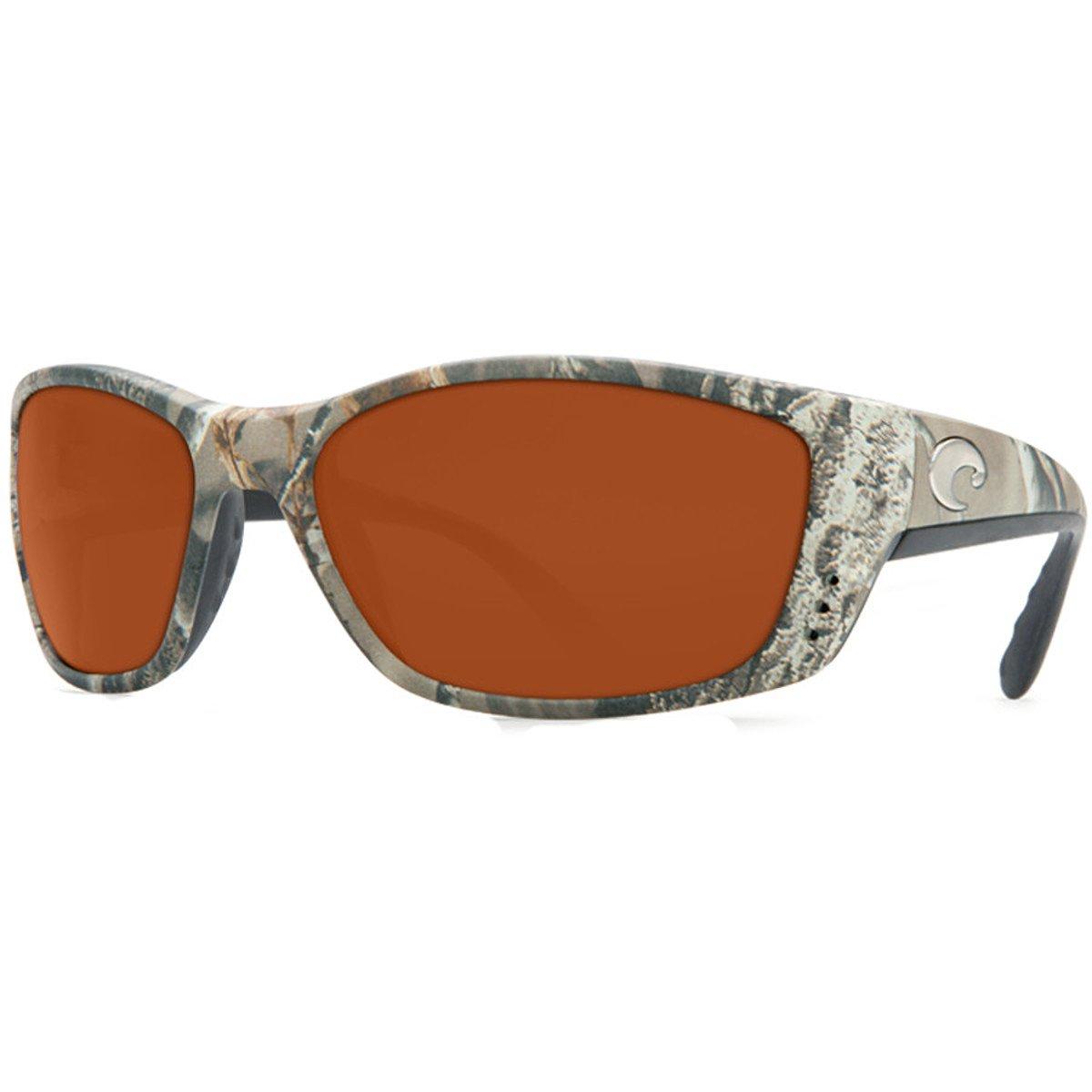 fb6bdffaf79 Amazon.com  Costa Del Mar Fisch Sunglasses Realtree AP Camo Copper 580P  Lens New  Clothing