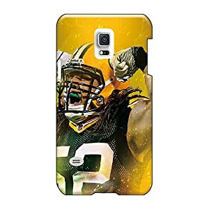 Samsung Galaxy S5 Mini ICm8931GbSK Support Personal Customs Vivid Green Bay Packers Pattern Shock-Absorbing Hard Cell-phone Cases -JacquieWasylnuk