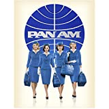 Pan Am Cast with Christina Ricci Ready to Board with Logo 8 x 10 Inch Photo