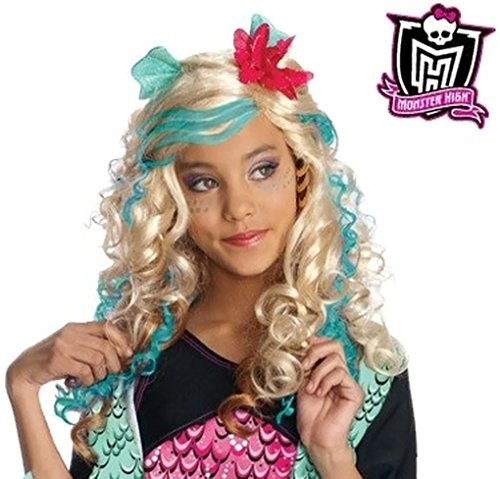 [Monster High Child Wig - Lagoona Blue] (Monster High Lagoona Blue Costume With Wig)
