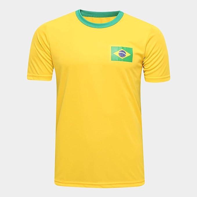 Camisa Brasil Torcedor Masculina