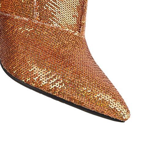 Jieeme Chelsea Donna 101 Stivali Gold Z06 ABt8r1qwA