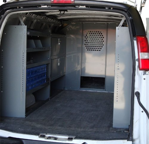 Econoline Level (Van Safety Partition, Bulkhead/Divider with 10 inch opening at floor level Ford Econoline)