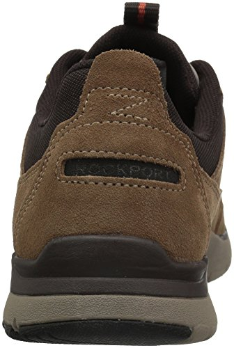 Rockport Mænds Kingstin Vandtæt Blucher Mode Sneaker Mørk Tan O1IR1n