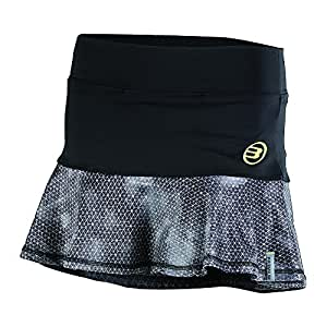 Bull padel Brina - Falda para Mujer, Color Negro