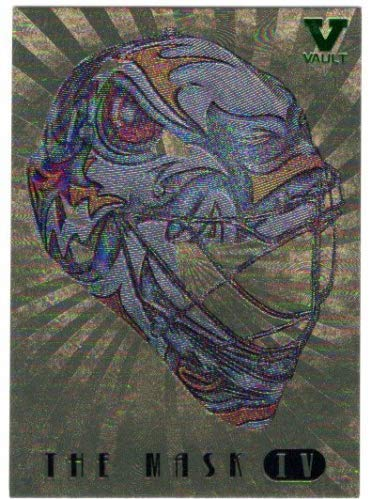2006-07 Between The Pipes The Mask Gold #M07 Ryan Miller - From the Vault Version - Buffalo - Mask Sabre