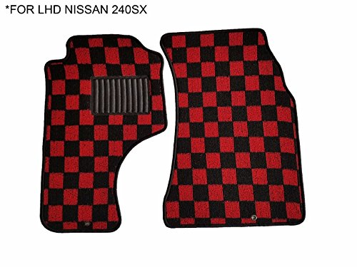 Kei Project 89-94 Fabric Custom Fits Nissan 240sx S13 Floor Mats Interior Carpets ()