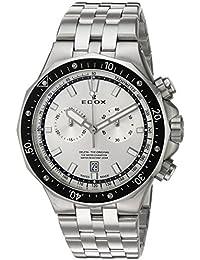 Men's 'Delfin' Quartz Stainless Steel Dress Watch, Color:Silver-Toned (Model: 10109 3M AIN)