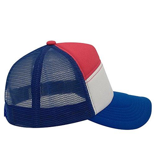 oriental para de Gorra rosa spring béisbol hombre azul RBRHCpqxw