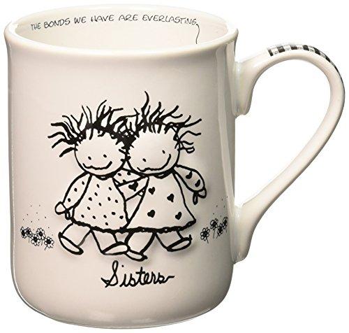 Enesco 62004 Sisters Mug, 4.5