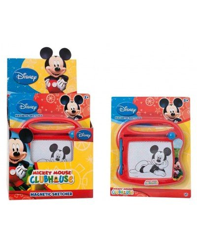 Magic Sketcher (Disney Mickey Mouse Mini Magnetic Sketcher. Draw on the mini magic sketcher and wipe it clean! Perfect for travel and holidays)