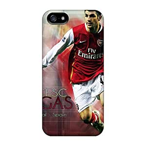 Shockproof/dirt-proof The Player Of Barcelona Francesc Fabregas In Colors Of Arsenal Covers Cases For Samsung Galaxy Note3