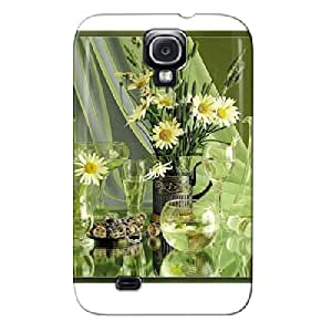 TPU Various Glass Containers Photography White For Sumsang Galaxy S4 Various Glass Containers Case Cover