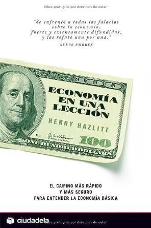 Economia en una leccion henry hazlitt
