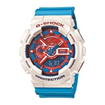Casio Men's GA110AC-7A G-Shock Blue and Red Series Limited Edition Sport Watch
