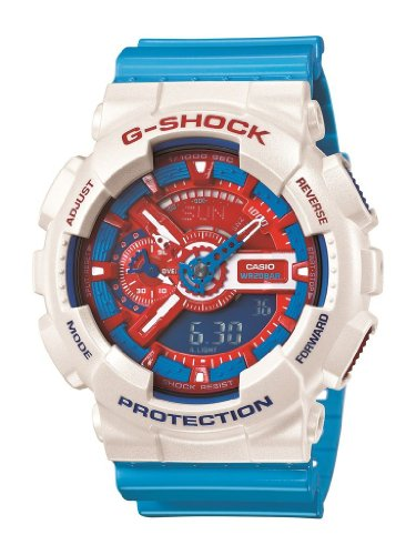 G Shock Ga 110 Watch White Multi