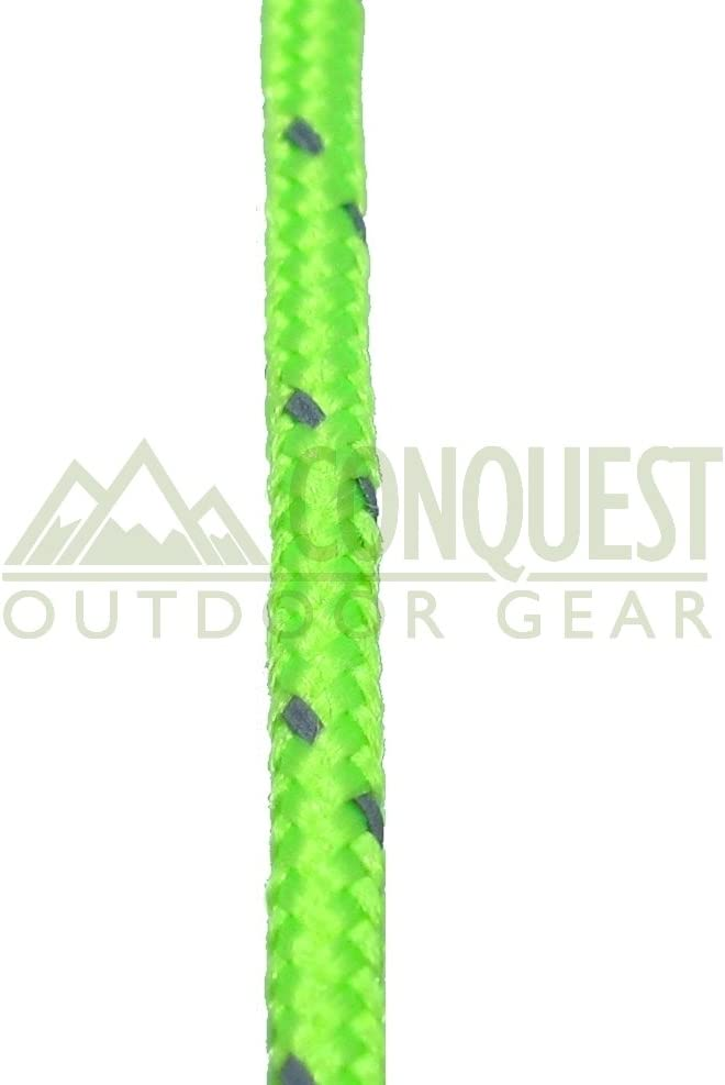 Conquest Outdoor Gear Ultra Light 200kg Breaking Strain 5 2mm Dyneema Reflective Tent Guy Guide Rope
