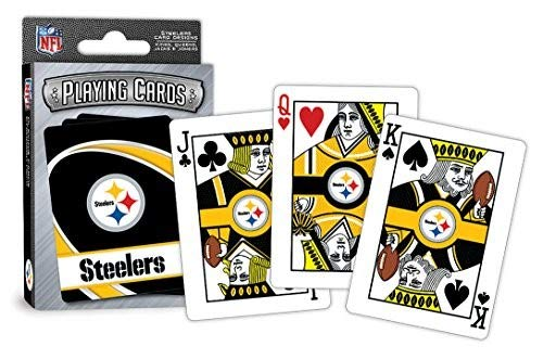 MasterPieces NFL Pittsburgh Steelers Playing Cards
