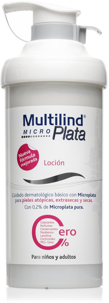Multilind Microplata Loción - 500 ml. Alivio notable del picor, descamación, irritación y enrojecimiento de piel Stada 1629371