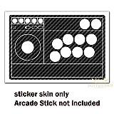 SopiGuard Sticker Skin for 8BitDo Arcade Stick Top