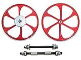 BBR Tuning 26 Inch Heavy Duty Motorized Bike Mag Wheels (Red)