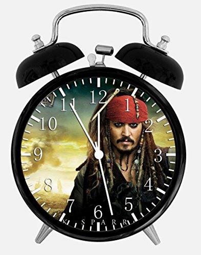 Pirates of the Caribbean Alarm Desk Clock 3.75