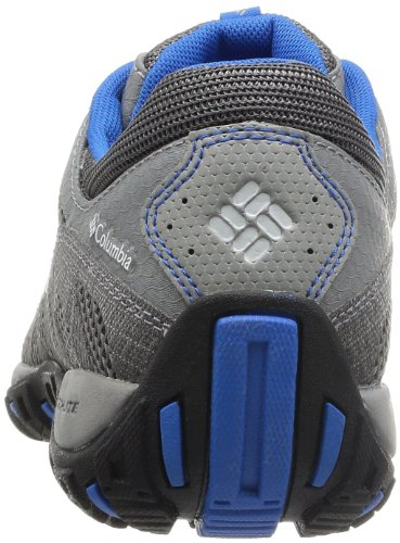 Columbia Peakfreak Enduro - Zapatillas de Senderismo de material sintético hombre gris - Shale/Hyper Blue